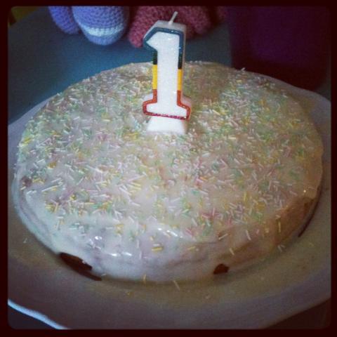 Ein Gesunder Kuchen Zum 1 Geburtstag