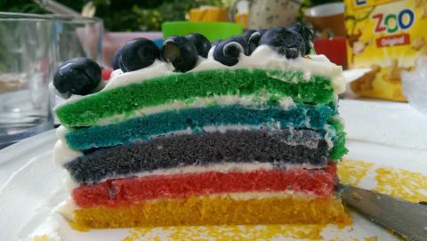 Regenbogenkuchen Rezept Leicht Zum Nachbacken